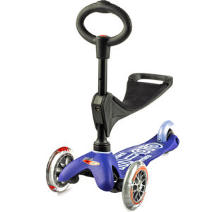 Micro Mini 3in1 Deluxe Blue Scooter