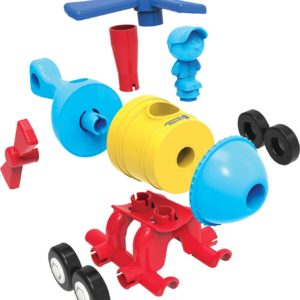 1-2-3 Build It Train/Rocket/Helicopter