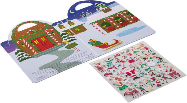 Puffy Stickers - Santa's Workshop