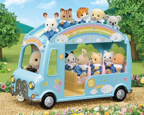 Calico Critter Sunshine Nursery Bus