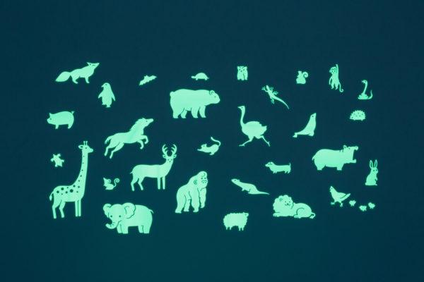 Animals Gloplay Stickers