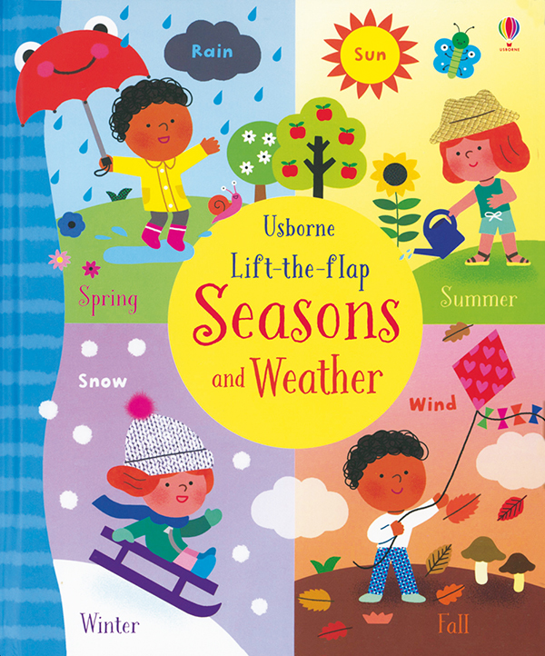 Lift-The-Flap Seasons And Weather (Ir)
