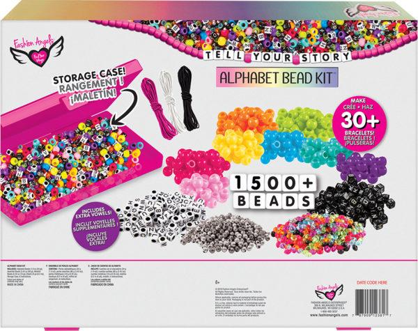 Tell Your Story 1500+ Alphabet Bead Set