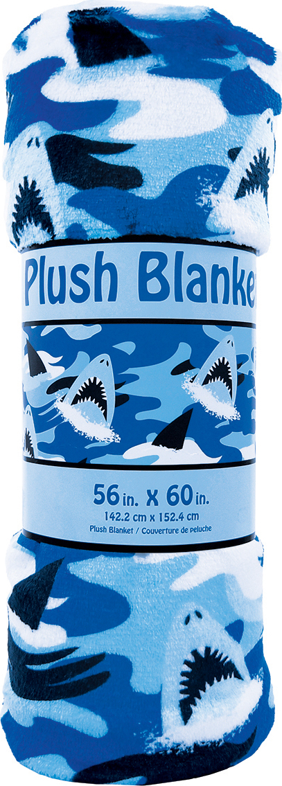 Sharks Plush Blanket