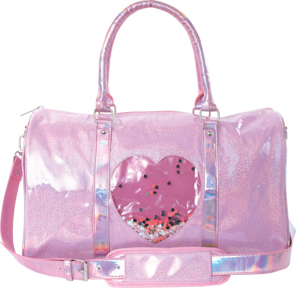 Heart Confetti Duffel Bag