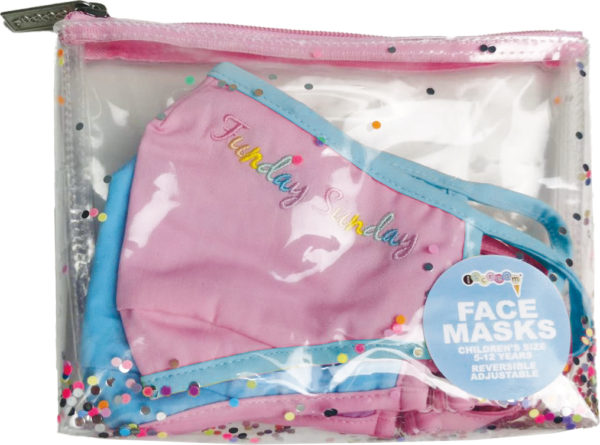 Days Of The Week Face Mask Set - Children'S Size
