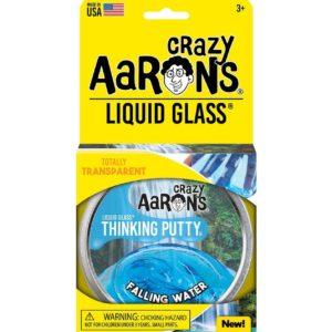 "Falling Water 4"" Tin Liquid Glass Thinking Putty"