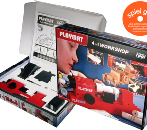 Cool Tool Playmat 4 in 1 Woodworking Set