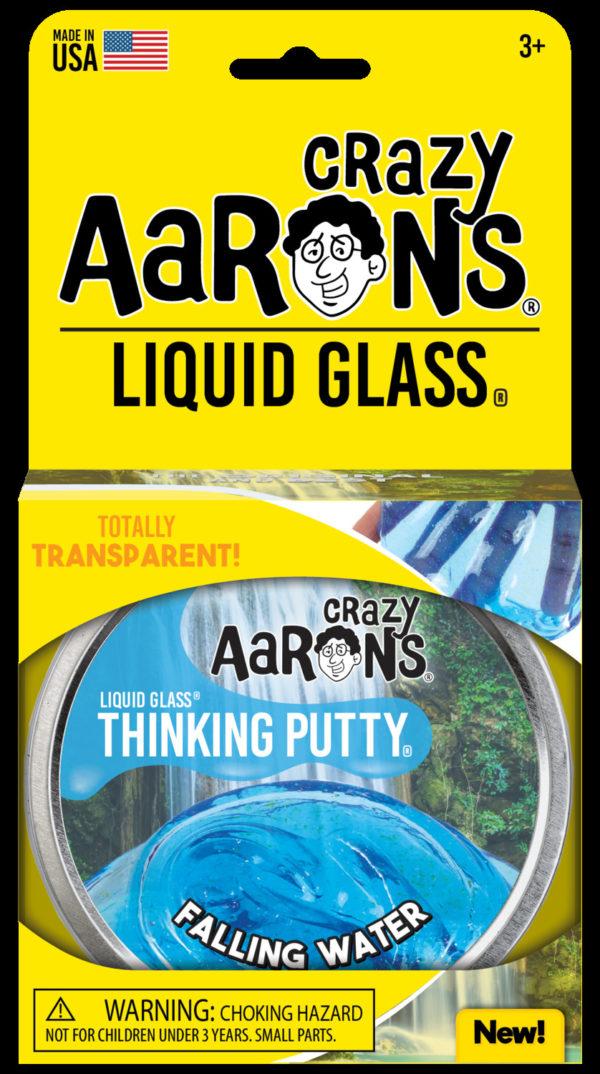 Falling Water Liquid Glass Thinking Putty
