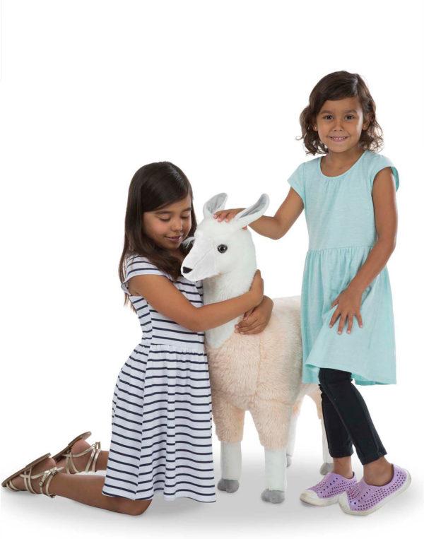 Lifelike Plush Llama