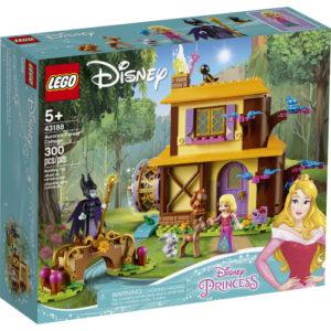 LEGO Aurora's Forest Cottage