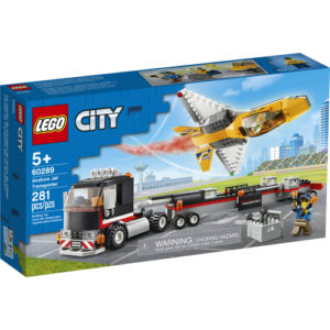 LEGO Airshow Jet Transporter