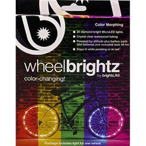 Brightz, Ltd. Color Morphing Wheel Brightz LED Bicycle Light