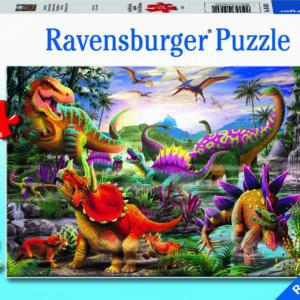 35 Pc T-Rex Terror Puzzle