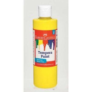 Yellow Tempura Paint (8 oz Bottle)