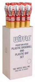 "Wiffle 32"" Plastic Bat Ball Sets 12/ Dy"