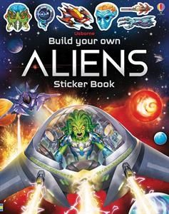 Build Your Own Aliens Sticker Book