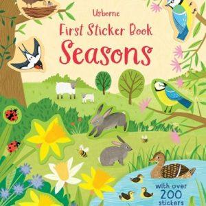 First Sticker Book, Seasons (Ir)