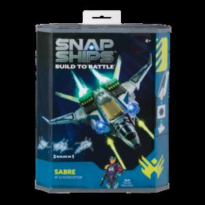 Snap Ships Sabre X-23 Interceptor