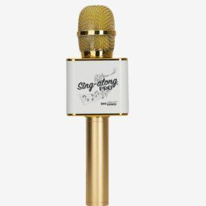 Gold Sing-A-Long Pro Karaoke Microphone
