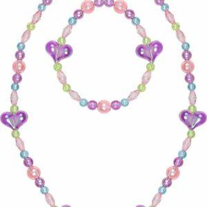 My Heart Will Go On Necklace Bracelet Set