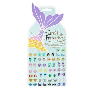 Mermaid Sticker Earring, 30 Pairs