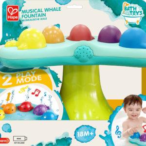 Musical Whale Fountain