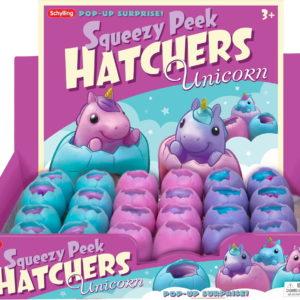 Unicorn Squeezy Peek Hatcher