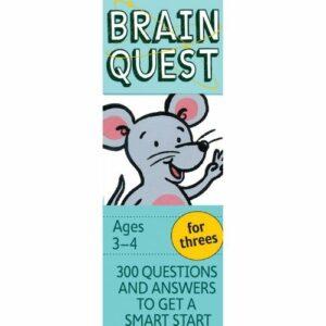 Brain Quest for Threes Q&A Cards
