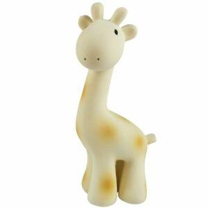 Giraffe- Natural Organic Rubber Rattle