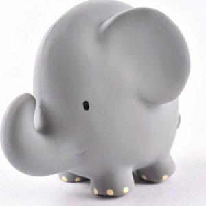 Elephant - Natural Organic Rubber Rattle
