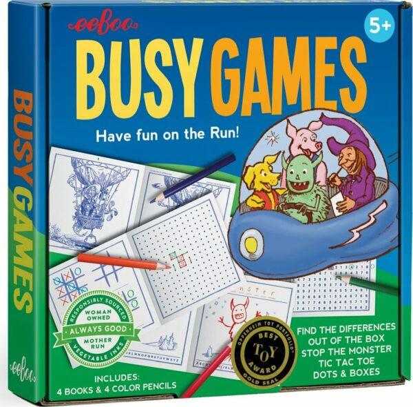 Busy Game Travel Set