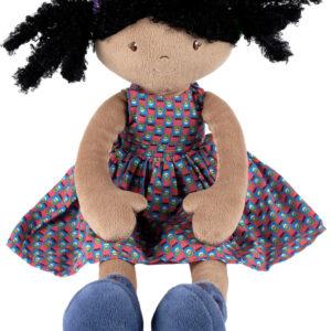 Leota - Black Hair With Purple Dress